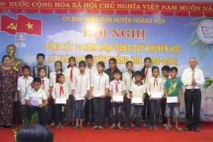 Quỹ khuyến học Lê Xuân Lan chắp cánh ước mơ cho học sinh nghèo