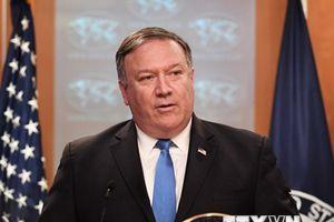 Ngoại trưởng Pompeo hủy chuyến thăm Triều Tiên vì một lá thư thù địch