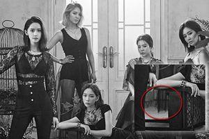 SNSD - Oh!GG tung concept trắng đen: 'Fan sốc nặng vì chân của Hyoyeon bị… xóa không thương tiếc'