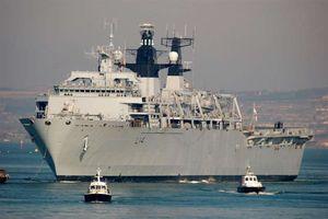 Tàu chở xe tăng tải trọng 21.000 tấn của Anh sắp thăm Việt Nam