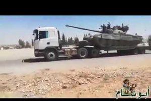Syria: Khí tài của lực lượng Tiger rầm rập hướng về Idlib