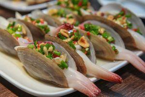 Tu hài Vân Đồn, hải sản quý của vùng biển Quảng Ninh