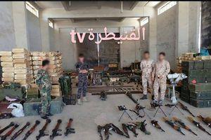 Thánh chiến bại trận, quân đội Syria chiếm giữ thêm kho vũ khí lớn tại Quneitra