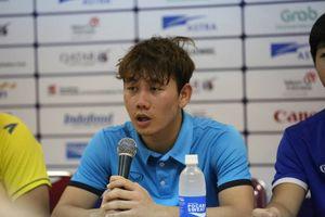 Minh Vương chia sẻ về siêu phẩm đá phạt vào lưới Olympic Hàn Quốc