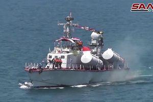 Hải quân Syria khoe chiến thuật đánh đặc biệt
