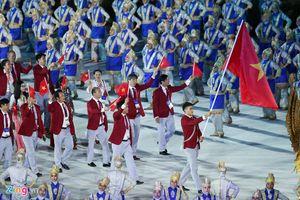 Tổ chức lễ vinh danh đoàn thể thao Việt Nam vào chiều 2/9 ở Mỹ Đình