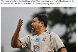 HLV tuyển Olympic Thái Lan cảm thấy 'nhẹ nhõm' khi mất việc