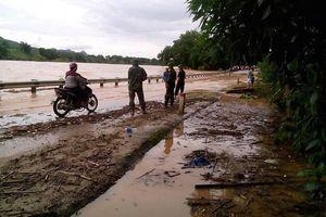 Nhiều nơi ngập sâu vì thủy điện xả lũ ở Nghệ An
