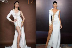 Mặc váy giống của H'Hen Niê, thí sinh Hoa hậu chuyển giới Thái Lan nhận 'cái kết đắng'