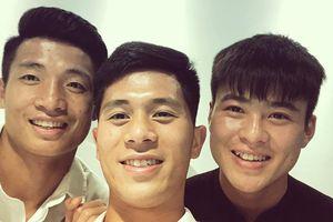 Tình cảm thân thiết đặc biệt của bộ ba hậu vệ U23 Việt Nam