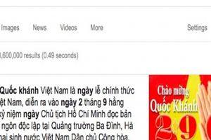 Dân mạng tìm kiếm những gì về 'ngày Quốc khánh 2/9' trên Google?