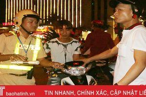 Hà Tĩnh xử lý 492 trường hợp vi phạm Luật GTĐB trong 3 ngày nghỉ lễ Quốc khánh