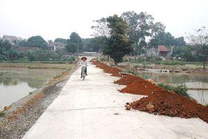 Xã Đông Yên, huyện Quốc Oai: Giao thông đi trước một bước