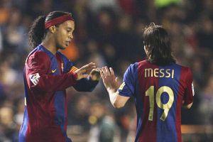 Ronaldinho: 'Chỉ người ngoài hành tinh mới đánh bại được tôi và Messi'