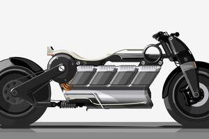 Curtiss Hera: Chiếc xe máy điện sang trọng bậc nhất thế giới