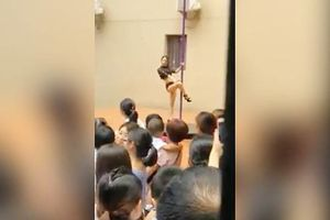 Sa thải hiệu trưởng cho múa cột trong lễ khai giảng tại trường mẫu giáo Thâm Quyến