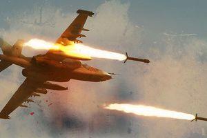 Không quân Syria bắt đầu chiến dịch ném bom hạng nặng xuống Idlib