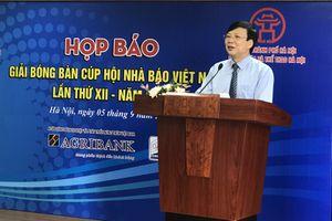 231 vận động viên tham gia Giải bóng bàn Cúp Hội Nhà báo Việt Nam lần thứ XII-năm 2018