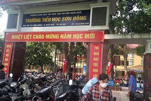 Chủ tịch UBND TP. Hà Nội yêu cầu làm rõ việc loạn thu tại trường Sơn Đồng