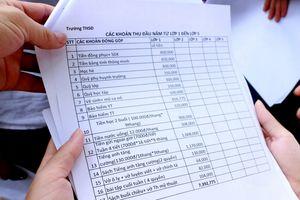Xôn xao trường huyện thu hơn 7 triệu/học sinh đầu năm học mới