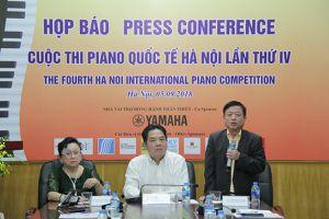 Hơn 80 thí sinh đến từ 9 quốc gia tham gia Cuộc thi Piano Quốc tế Hà Nội lần thứ IV