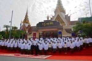 Quốc hội Campuchia bầu các chức danh chủ chốt