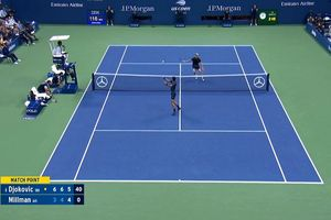 Thắng tuyệt đối Millman, Djokovic ung dung vào bán kết