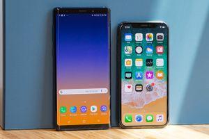 Những tính năng giúp iPhone X 'ăn đứt' Galaxy Note 9