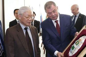 Rời Moscow, Tổng bí thư Nguyễn Phú Trọng đến thăm tỉnh Kaluga