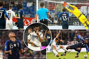 Thủ môn giúp tuyển Pháp thoát thua trước 'xe tăng' Đức!