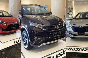 Wigo, Rush và Avanza, ba mẫu xe nhập khẩu của Toyota đổ bộ vào tháng 9