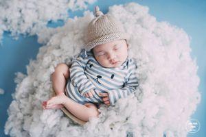 Bộ ảnh bé sơ sinh 15 ngày tuổi cực dễ thương