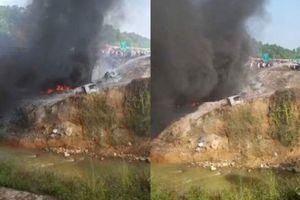 Chủ xe bồn cháy nổ như bom trên cao tốc là ai?