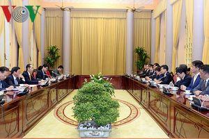Chủ tịch nước tiếp cố vấn đặc biệt Tập đoàn Mainichi-Nhật Bản