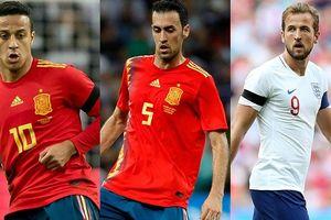 Đội hình kết hợp Tây Ban Nha - Anh: 'Bò tót' thắng thế