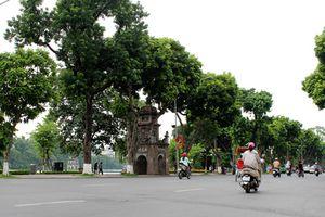 Hà Nội: Chất lượng không khí các điểm giao thông biến động trái ngược ngày cuối tuần