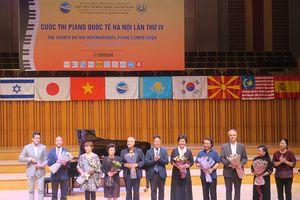 Khai mạc cuộc thi Piano quốc tế Hà Nội lần thứ IV