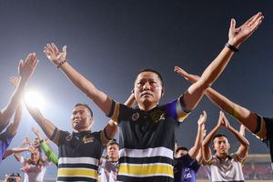 HLV Chu Đình Nghiêm không dám nói với học trò về mục tiêu vô địch