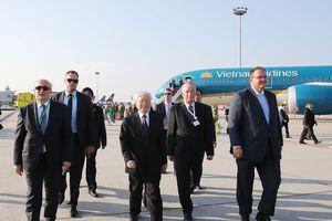 Chùm ảnh: Tổng Bí thư thăm chính thức Hungary