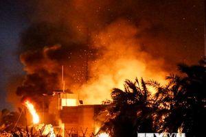 Dân quân Iraq cáo buộc Mỹ kích động làn sóng bạo lực tại Basra