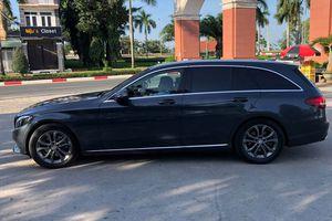 Hàng hiếm Mercedes Benz C220d Estate xuất hiện tại Việt Nam