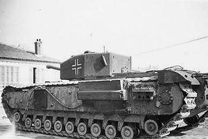 Giải mã chiếc xe tăng có nhiều bánh nhất Thế chiến thứ 2