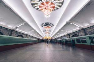 Chiêm ngưỡng ga tàu điện ngầm đáng kinh ngạc của Triều Tiên