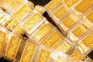 Vàng trong nước đắt hơn vàng thế giới 3,16 triệu đồng/lượng