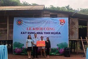 Thanh niên Hải quan Quảng Trị khởi công xây nhà tình nghĩa