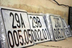 Ý nghĩa bất ngờ ít người biết của dấu chấm trên biển số xe 5 số