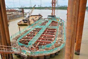 Dự án chống ngập 10.000 tỷ thay thép Nhật Bản thành thép Trung Quốc