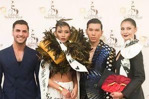 Diệu Huyền được chọn làm vơ-đét ở tuần lễ Couture New York Fashion