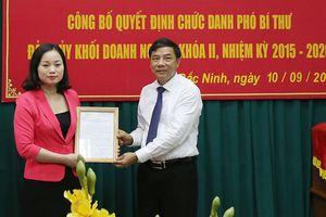 Trao quyết định bổ nhiệm tại hai tỉnh Thanh Hóa, Bắc Ninh