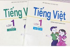 Sách Tiếng Việt 1 và cơn bão trong ly nước